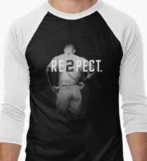 Respect Derek Jeter Re2pect 2 On Back new york uniform MJ baseball T-Shirt