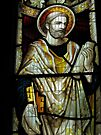 Stained glass window, St Mary Magdalene church, Adlestrop, UK by David Carton