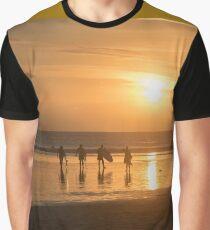 Sunset Surf Graphic T-Shirt
