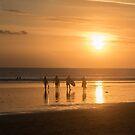 Sunset Surf by byronbackyard