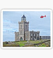 Isle of May Lighthouse  Sticker