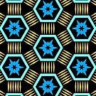 Bold Hexagonal Pattern by Lyle Hatch