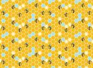 Hexagon Bees! by spiffy-keen