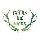 Rattle the Stars Aquarell von cjah