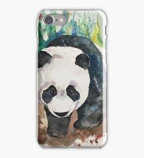 Panda Food - Ailuropoda melanoleuca iPhone Case/Skin