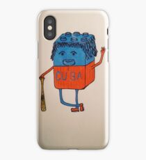 Cube-an baseball player iPhone Case/Skin