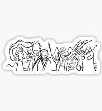 Avatar: The Last Airbender - Sokka's Drawing Sticker