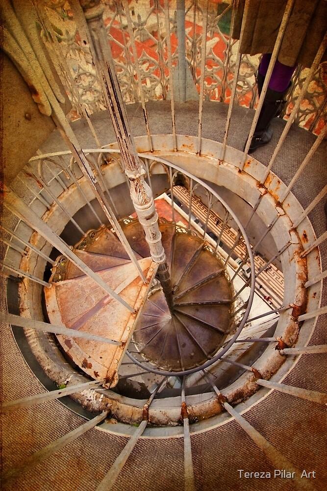 Spiral. Sta. Justa. Rua do Ouro. by terezadelpilar ~ art & architecture