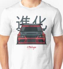 Lancer Evo IX (red) Unisex T-Shirt