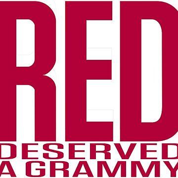 Red Deserved a Grammy by santoast