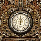 Steampunk Vintage Time Machine by Steve Crompton