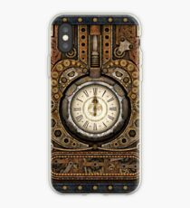 Steampunk Vintage Time Machine iPhone Case