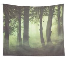 Wispy Forest Mists Wall Tapestry