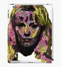 Capable Friend Of The Fifties Film Scream Queen Version Two iPad Case/Skin