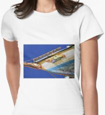 sailing boat Womens Fitted T-Shirt