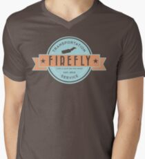 Firefly Transportation Men's V-Neck T-Shirt
