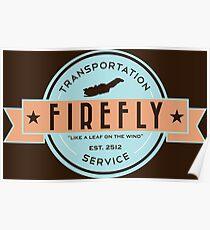 Firefly Transportation Poster