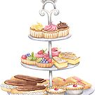 Three Tier Sweet Stand by LCWaterworth