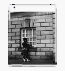 Scottish Musician iPad Case/Skin