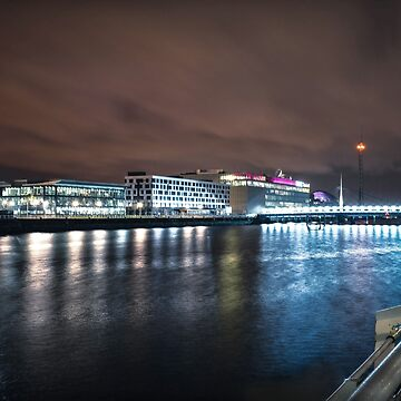 Pacific Quay Long Exposure by S-Shadowman