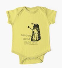 Daddy's Little Dalek One Piece - Short Sleeve