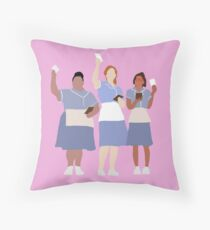 waitress musical Throw Pillow