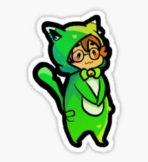 cat pidge: voltron Sticker