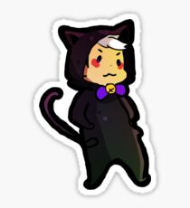 cat shiro: voltorn Sticker