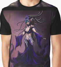 Elven Shadow Masquerade Graphic T-Shirt