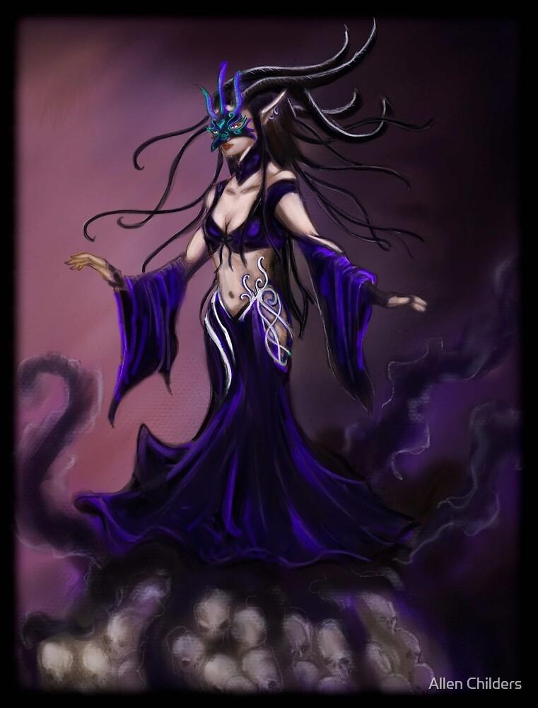 Elven Shadow Masquerade by Allen Childers