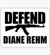 Defend Diane Rehm Sticker