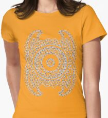 Paisley inside Paisley Womens Fitted T-Shirt