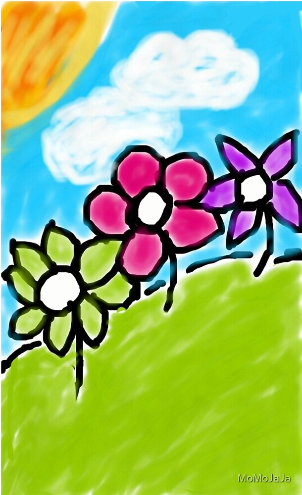 flower painting  by MoMoJaJa