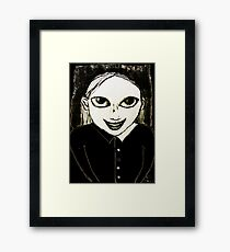 Evil Genius Child Framed Print
