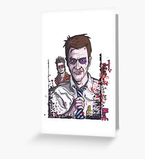 Fight Club #3 Tyler and I just gave it a name Greeting Card