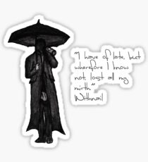 Withnail & I - Quote  Sticker