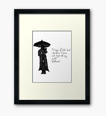 Withnail & I - Quote  Framed Print