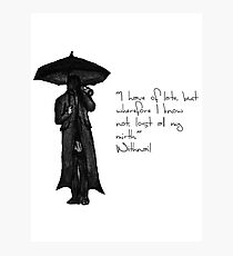 Withnail & I - Quote  Photographic Print