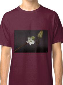 Dew Drops on Flower Classic T-Shirt