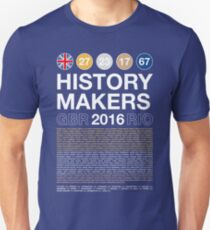 History Makers GB 2016 T-Shirt