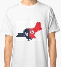 MLB Rivalry Map Classic T-Shirt