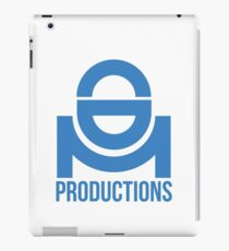 CDM Productions Blue logo iPad Case/Skin