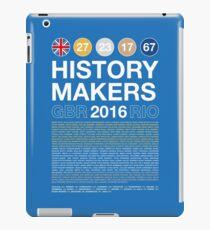History Makers GB 2016 iPad Case/Skin