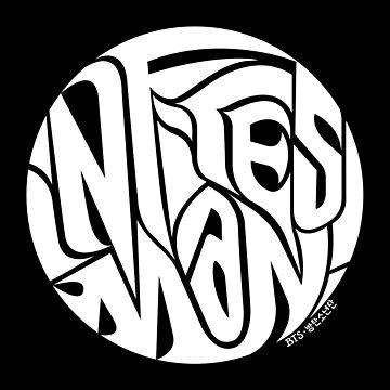 Infires Man! (White) - Bangtan Designs by Dandimator