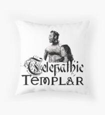 Telepathic Templar Throw Pillow