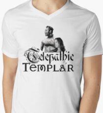 Telepathic Templar Mens V-Neck T-Shirt