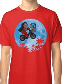 Stitch Phone Home Classic T-Shirt