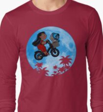 Stitch Phone Home Long Sleeve T-Shirt