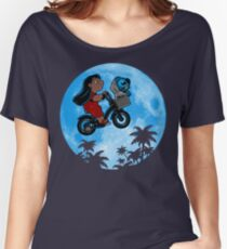 Stitch Phone Home Women's Relaxed Fit T-Shirt