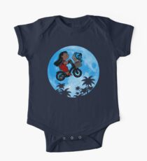 Stitch Phone Home One Piece - Short Sleeve